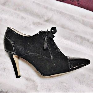 ISOLA LACE UP POINTED TOE ANKLE BOOTS MSRP $149
